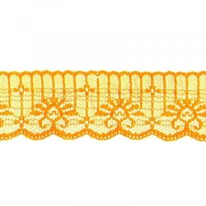 Кружево капрон 45 мм/10 м цвет 723 оранжевый