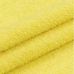 Ткань на отрез махровое полотно 150 см 390 гр/м2 цвет светло-желтый