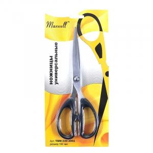 Ножницы MAXWELL 190 мм универсальные ТВМ-330-3002