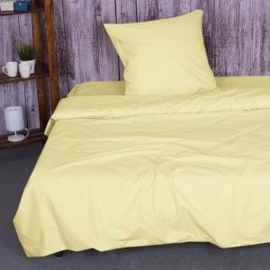 Постельное белье из бязи Желтый 1.5 сп