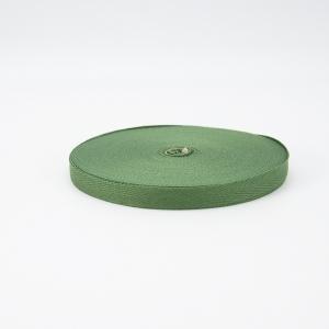 Тесьма киперная 10 мм хлопок 1,8г/см арт.08с-3495 цв.зеленый 009