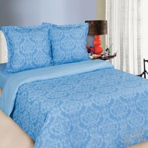 Поплин 220 см 115 г/м2 Византия голубая основа