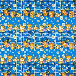 Бязь 100 гр/м2 150 см ТР 0837/2 цвет синий