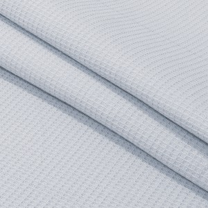 Ткань на отрез вафельное полотно гладкокрашенное 150 см 165 гр/м2 цвет серый