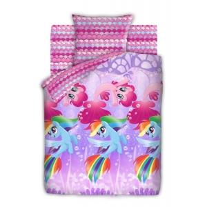 КПБ 1.5 бязь My Little Pony (50х70) рис. 8918-1/8919-1 Подводные пони