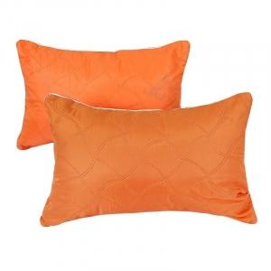Подушка декоративная чехол шелк ультрастеп оранжевый 40/60