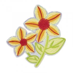 Термоаппликации ТАВ_Ц 1983 цветок ярко желтый 15*14см