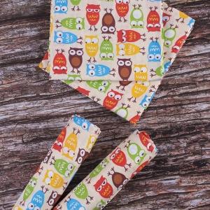 Набор детских пеленок поплин 4 шт 73/120 см 1799/2 цвет бежевый