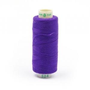 Нитки бытовые Dor Tak 40/2 100% п/э 524 фиолетовый