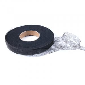 Паутинка Idealtex ширина 15 мм (100 м) 23 г/м2 цвет черный