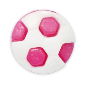 Пуговица детская сборная Мяч 16 мм цвет малиновый упаковка 24 шт