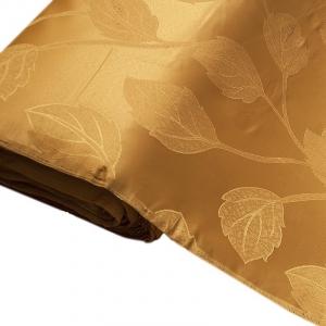 Портьерная ткань 150 см Дебют GLL984-27 цвет золото листья