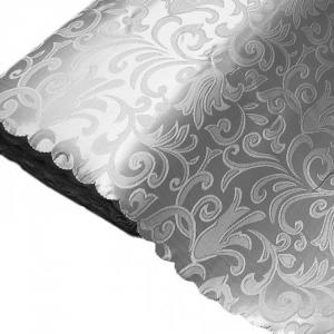 Портьерная ткань 150 см Дебют GLL988-40 серый вензель