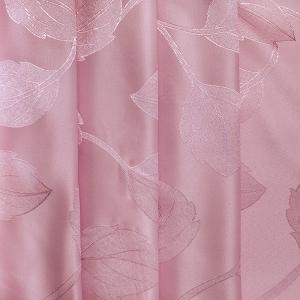 Портьерная ткань 150 см Дебют GLL984-32 цвет роза листья