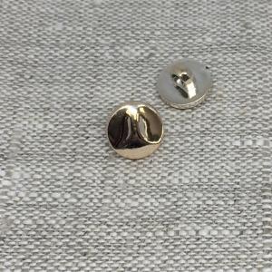 Пуговица ПР193 11 мм золото уп 12 шт