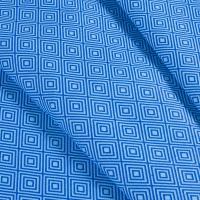 Ткань на отрез бязь плательная 150 см 1753/4 цвет синий