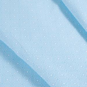 Ткань на отрез бязь плательная 150 см 1753/2 цвет голубой