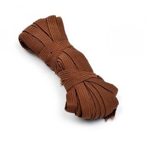 Резинка с42 10 мм цвет коричневый уп 10 м