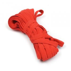 Резинка с42 10 мм цвет красный уп 10 м