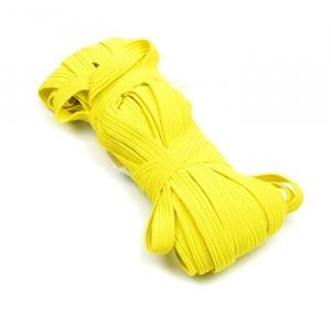 Резинка с42 10 мм цвет лимонный уп 10 м