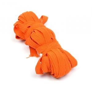 Резинка с42 10 мм цвет оранжевыйуп 10 м