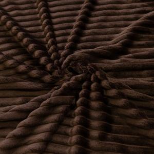 Ткань на отрез велсофт Orrizonte 300 гр/м2 200 см 004-ОT цвет шоколадный