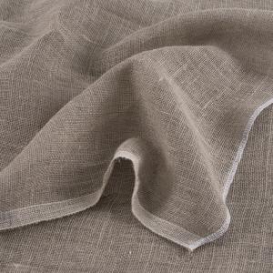 Ткань на отрез мешковина джут/лен 196 гр/м2 1.4/1.9  м