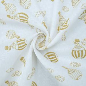 Ткань на отрез муслин 150 см Воздушные шары