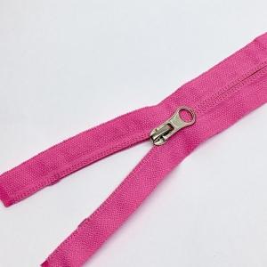 Молния спираль №5 реверс 50см №515 розовый