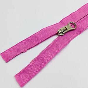 Молния спираль №5 реверс 55см №042 нежно розовый