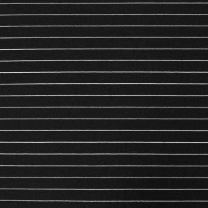 Ткань на отрез футер с лайкрой Жаккард цвет черный