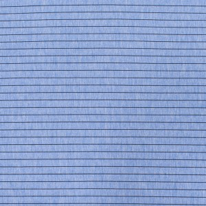 Ткань на отрез футер с лайкрой Жаккард цвет голубой
