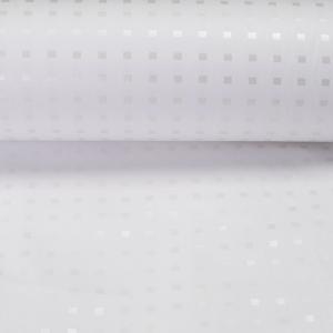 Ткань на отрез Тик 220 см 145 +/- 5 гр/м2 Шашки 603 J