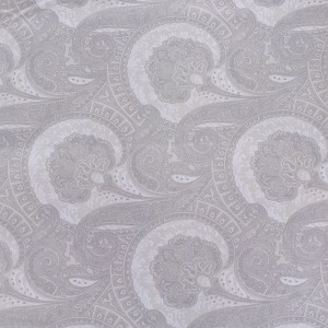 Ткань на отрез Тик 220 см 145 +/- 5 гр/м2 Огурцы цвет бежевый 2337/1