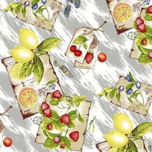 Ткань на отрез вафельное полотно 45 см 144 гр/м2 0958/1 цвет серый