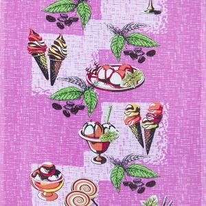 Ткань на отрез вафельное полотно 45 см 144 гр/м2 1305/2 цвет розовый