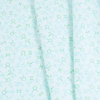 Ткань на отрез бязь плательная 150 см 1748/5 цвет мята