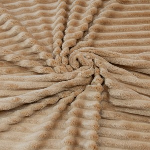 Ткань на отрез велсофт Orrizonte 300 гр/м2 200 см 010-ОT цвет коричневый