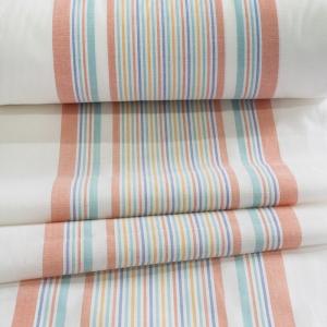 Ткань на отрез полулен полотенечный 50 см 3/47/54 Петунья оранжевая 70309