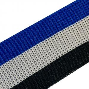 Лампасы №75 черный серый синий 2.5 см 1 метр