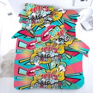 Ткань на отрез перкаль 150 см 16089/1 Pop Art
