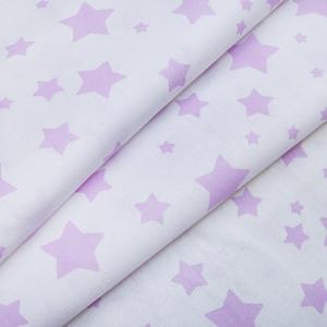 Ткань на отрез поплин 150 см 1733/5 цвет розовый