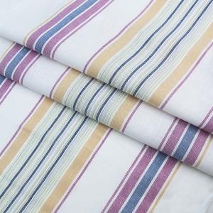 Ткань на отрез полулен полотенечный 50 см 3/48/77 Полоса тициан зеленый 703096