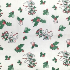 Ткань на отрез ситец белоземельный 80 см 8854