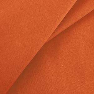Ткань на отрез бязь гладкокрашеная ГОСТ 150 см цвет оранжевый