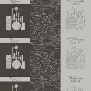 Вафельное полотно набивное 150 см 1364/1 Кухня Loft