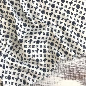 Рубашечная ткань на отрез Элиф LV-2 б/з цвет синий