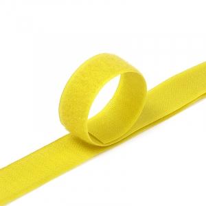 Лента-липучка 25 мм 1 м цвет F110 (109) желтый