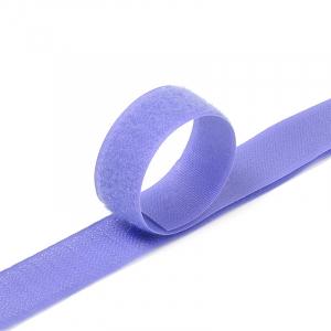 Лента-липучка 25 мм 1 м цвет F169 сиреневый
