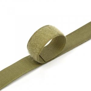 Лента-липучка 25 мм 1 м цвет F263 хаки